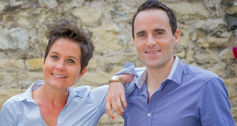 Mathilde et Julien, co-fondateurs d'Anticip