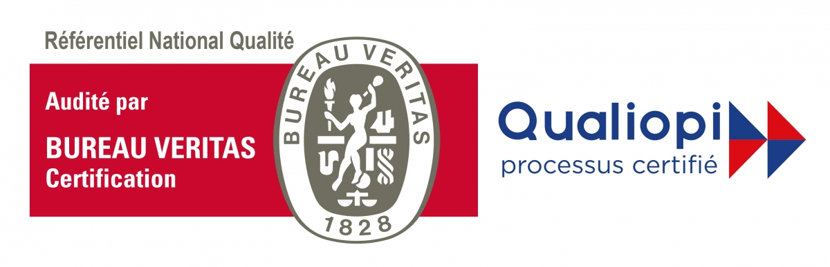 Logo certification QUALIOPI BV